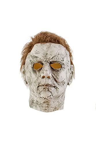 ASVP Shop Michael Myers Mask Deluxe Latex Mask Halloween Fancy Dress Costume