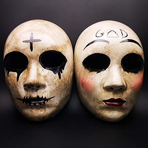 Various Cross & God Horror Killer Purge Couple Mask,The Purge Anarchy Movie,Halloween Masquerade Costume Party