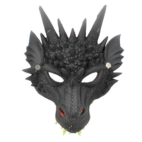 Zac's Alter Ego Fancy Dress Dragon Mask – Great for World Book Day & Halloween